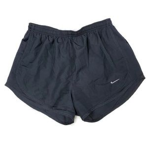 Nike All Black Small Tempo Running Shorts
